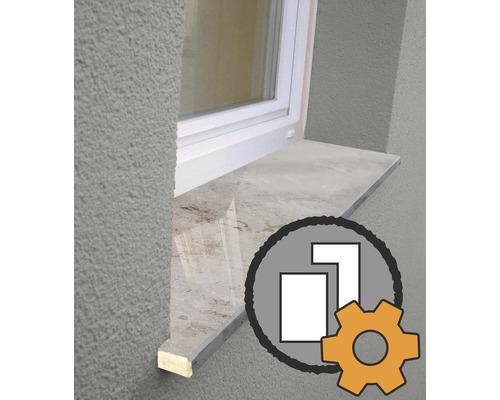 Appui de fenêtre et rebord de fenêtre sur mesure à commander en magasin à partir de 1,75€