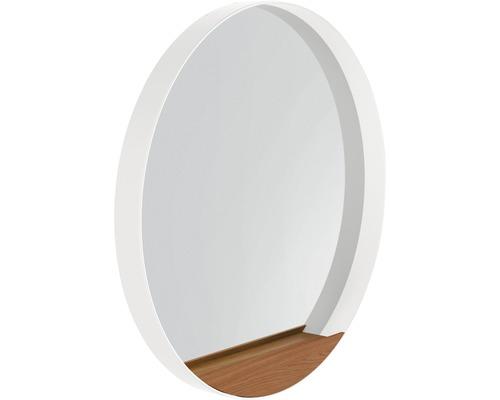 LED Badspiegel Agitar weiß 70 cm rund