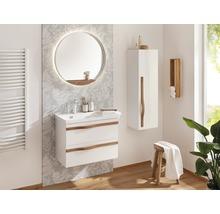 Waschtischunterschrank Agitar weiß 69 x 50,5 x 39,5 cm ohne Waschtisch-thumb-2