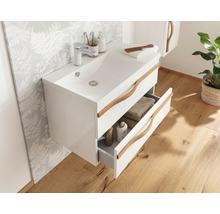 Waschtischunterschrank Agitar weiß 69 x 50,5 x 39,5 cm ohne Waschtisch-thumb-4