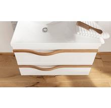 Waschtischunterschrank Agitar weiß 69 x 50,5 x 39,5 cm ohne Waschtisch-thumb-6