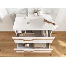Waschtischunterschrank Agitar weiß 69 x 50,5 x 39,5 cm ohne Waschtisch-thumb-8