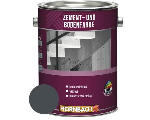 Peinture pour ciment peinture pour sol gris graphite 2.5 l