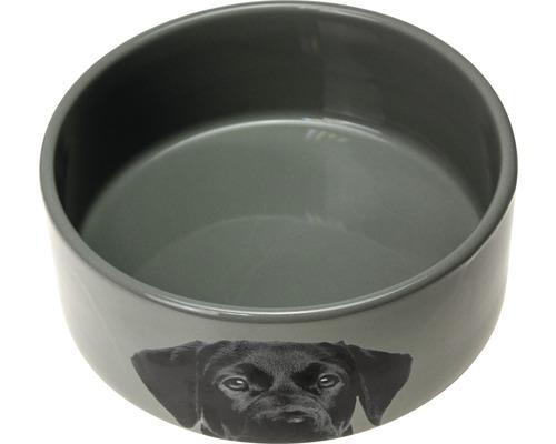 Napf Karlie Keramik 1500 ml grau
