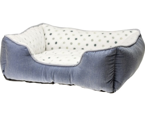 Lit pour chien Karlie Dots 47 x 39 cm bleu