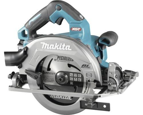 Akku-Handkreissäge Makita HS004GZ01 40V, ohne Akku und Ladegerät inkl. Sägeblatt 190x30 mm