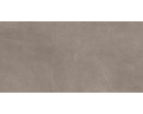 Carrelage pour sol et mur en grès cérame fin 30 x 60 cm Cementine mink R10B