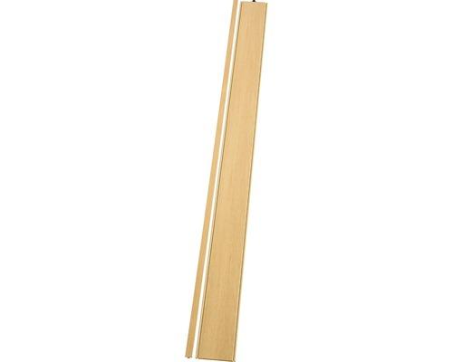 Lamelle Grosfillex Axia chêne clair 205x14,5 cm
