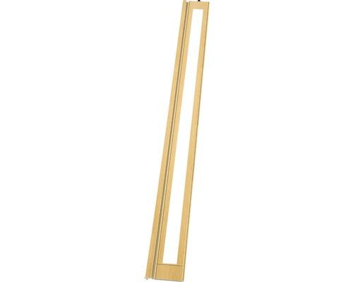Lamelle Grosfillex Larya chêne clair 205x14,5 cm