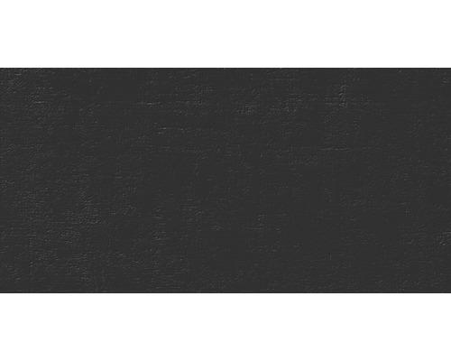 Carrelage pour sol et mur en grès cérame fin 30 x 60 cm Matrix super noir Random2 R11B