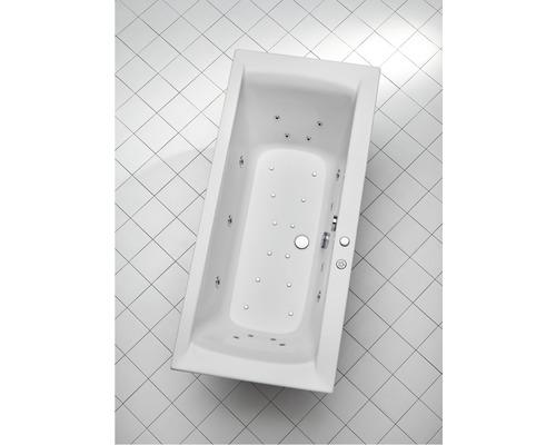 Whirlpool Vista 170x80 cm weiß mit integrierter Einlaufgarnitur