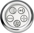 Whirlpool Vista 190x80 cm weiß mit integrierter Einlaufgarnitur