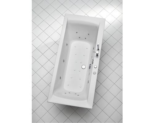 Spa Vista 170x75 cm blanc avec robinetterie de baignoire