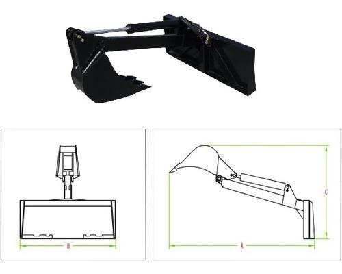 Anbaubagger für Multi-Lader PowerPac ML350