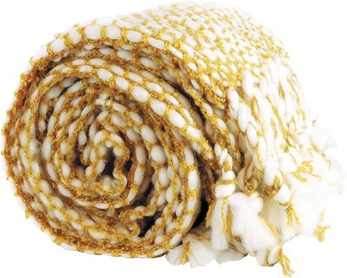Plaid Pipa mellow gelb 127x152 cm