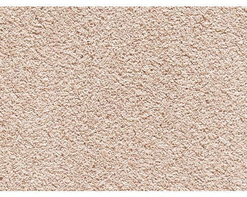 Teppichboden Kräuselvelours Romantica lachs 500 cm breit (Meterware)