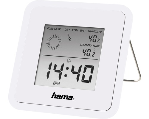 Thermo-/hygromètre TH50 blanc