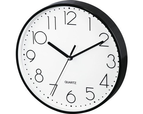 Horloge murale PG-220 silencieuse noir