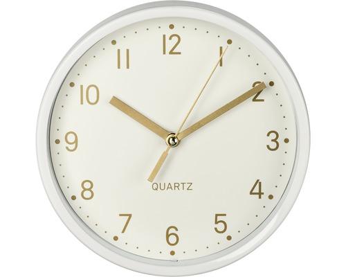 Horloge de table Golden silencieux blanc