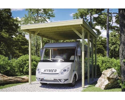 Carport pour un véhicule Skanholz Friesland 397 x 555 cm, imprégné par immersion