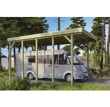 Carport pour un véhicule Skanholz Friesland 397 x 708 cm, imprégné par immersion-thumb-0