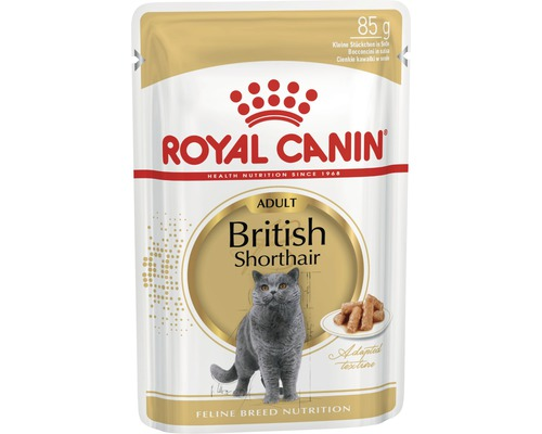 Nourriture humide pour chats ROYAL CANIN Britisch Shorthair 1 pack 12x85 g-0