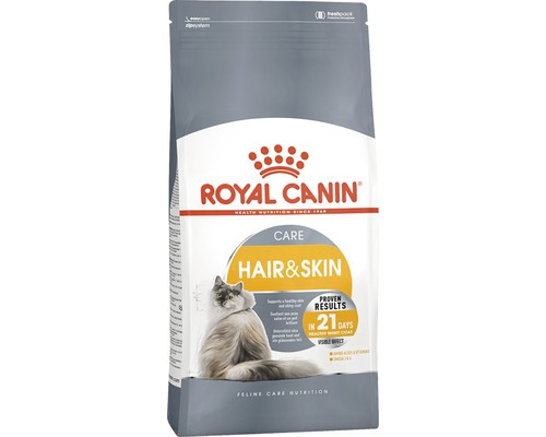 Aliment pour chat Royal Canin Hair + Skin 33, 2 kg