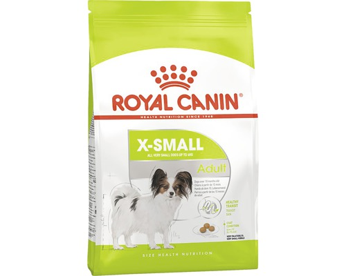 Hundefutter trocken Royal Canin X-Small Adult 1,5 kg
