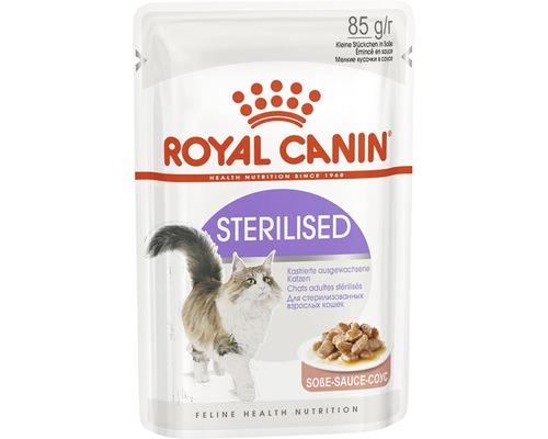 Nourriture sèche pour chats, ROYAL CANIN FHN Sterilised, 85g