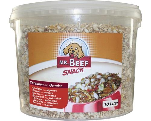 Nourriture pour chiens MR. BEEF céréales aux légumes seau de 10l