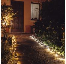 Filet lumineux Twinkly 190 LED avec Wi-Fi et commande via une appli blanc chaud blanc froid ambre-thumb-12