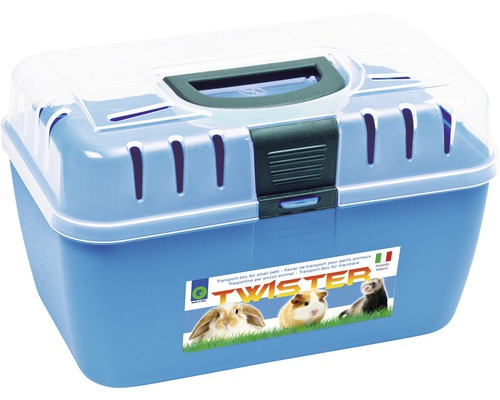 Boîte pour petits animaux Twister 29 x 19 x 18 cm, choix de couleurs aléatoire