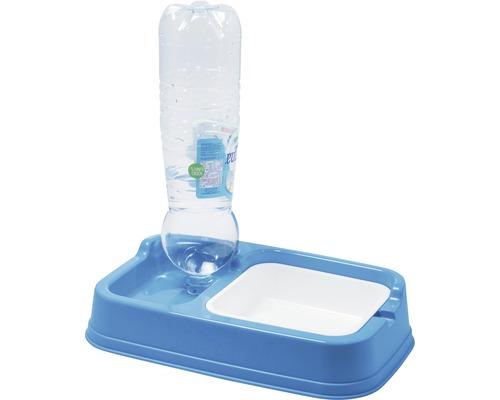 Wasserspender, Futterspender 34 x 20,5 x 7 cm zufällige Farbauswahl