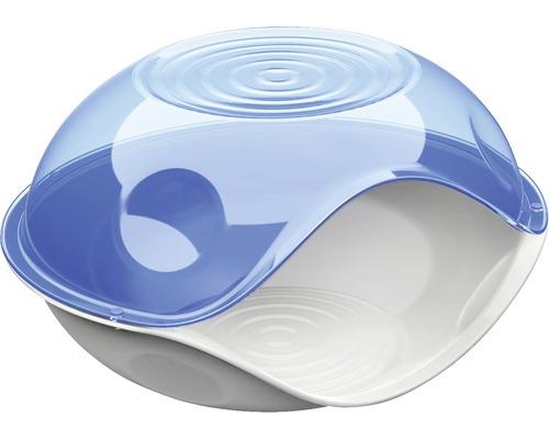 Abri pour chat Duck Plain 57 x 48 x 32 cm transparent, choix de couleurs aléatoire