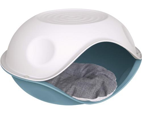 Abri pour chat Duck Pillow avec coussin 57 x 48 x 32 cm, choix de couleurs aléatoire
