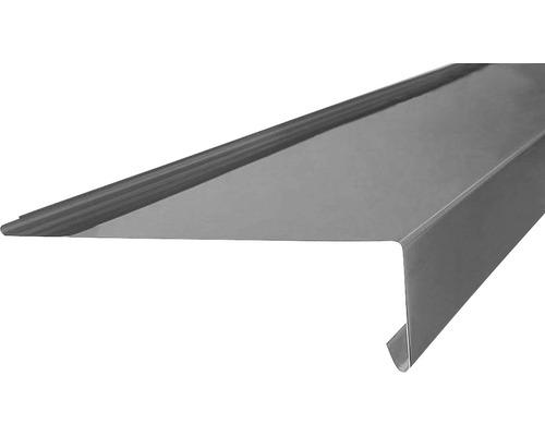 Traufblech Titanzink ohne Falz 2 m