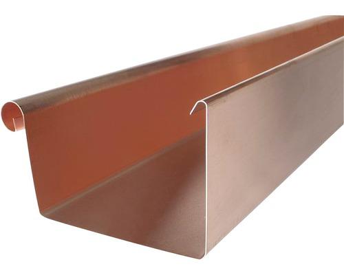 Kastenrinne Kupfer NW 70 Länge: 3,00m