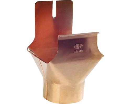 Ablaufstutzen Kupfer für Kastenrinne NW 70 Ablauf NW 60mm