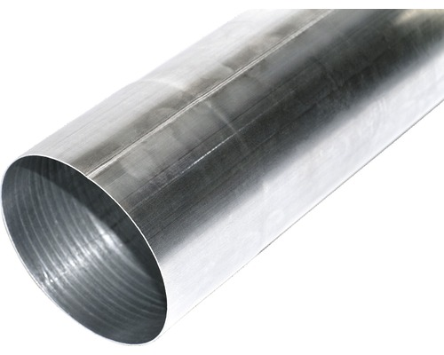 Tuyau de descente zinc diam. nom. 105 mm, longueur : 1.00 m