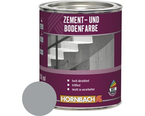 Peinture pour ciment peinture pour sol gris moyen 750ml