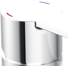 Mitigeur de lavabo AVITAL Fella chrome, mécanisme de vidage inclus-thumb-1