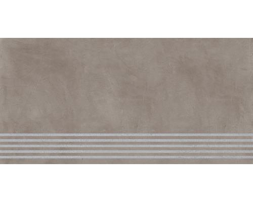 Carrelage de marche Cementine mink 30 x 120 cm