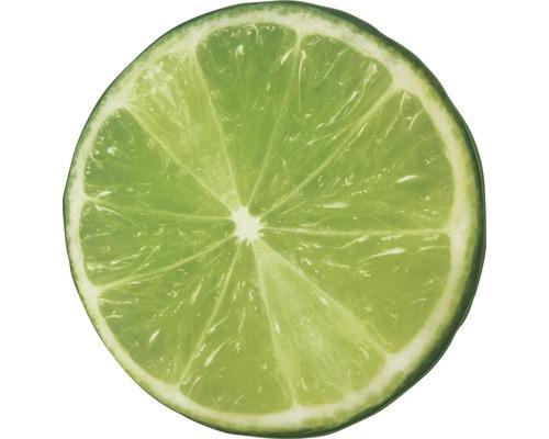 Sitzkissen Velvet Lime Ø 40 cm