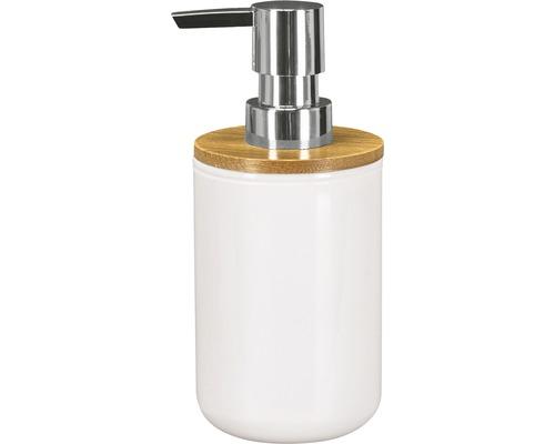 Distributeur de savon Timber blanc