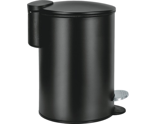 Poubelle cosmétique Silence noir 3 L