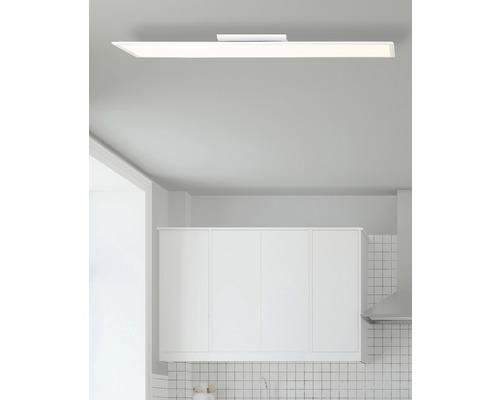 Panneau LED RGBW Abie blanc variable blanc 40W 4000 lm 2700-6500 K blanc chaud - blanc lumière du jour 1200x300 mm avec télécommande