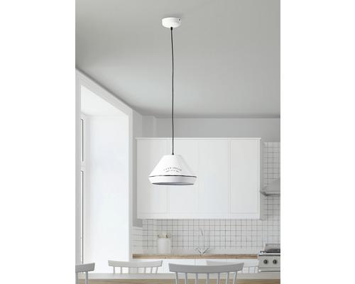 Suspension 1 ampoule Grain blanc Ø 330 mm