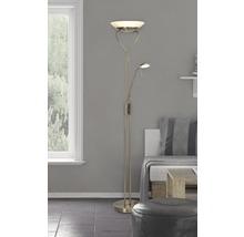 Plafonnier LED laiton/antique avec 2 ampoules 1600lm 3000K blanc chaud H 1800mm-thumb-0