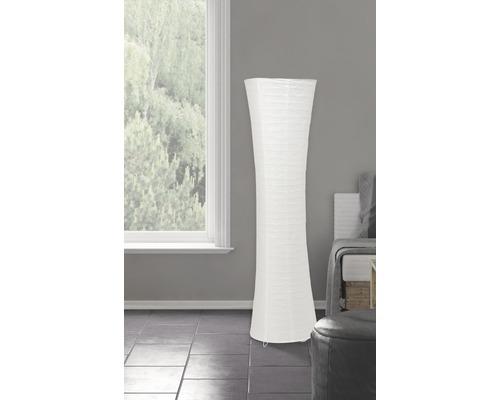 Lampadaire 2 ampoules h 1250 mm Becca blanc