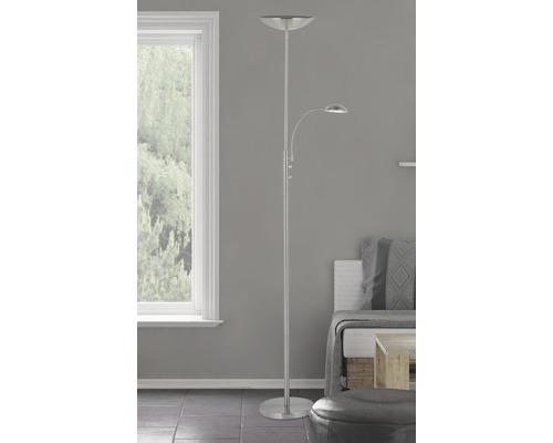 Plafonnier LED Rosanna fer à intensité lumineuse variable avec 2ampoules 1600lm blanc chaud h 1,8m